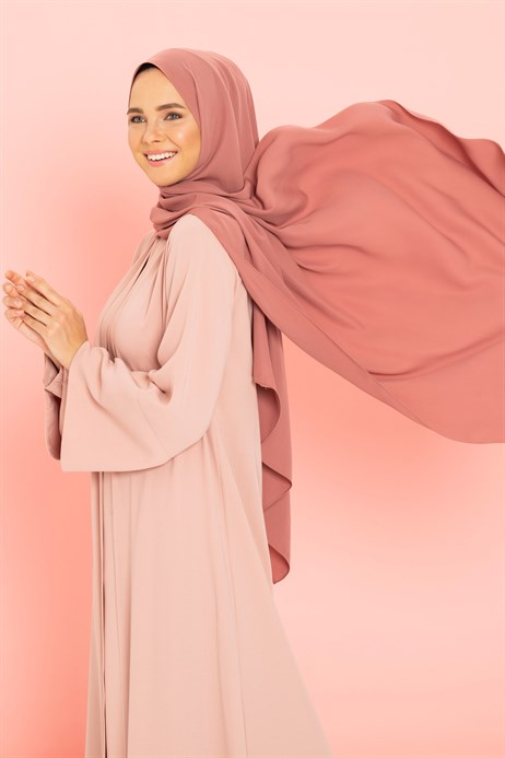 Medina Silk Dusty Rose Shawl