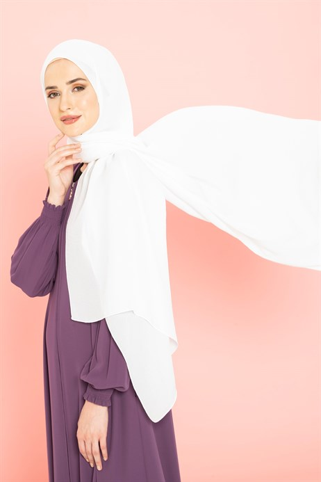 Jazz White Shawl