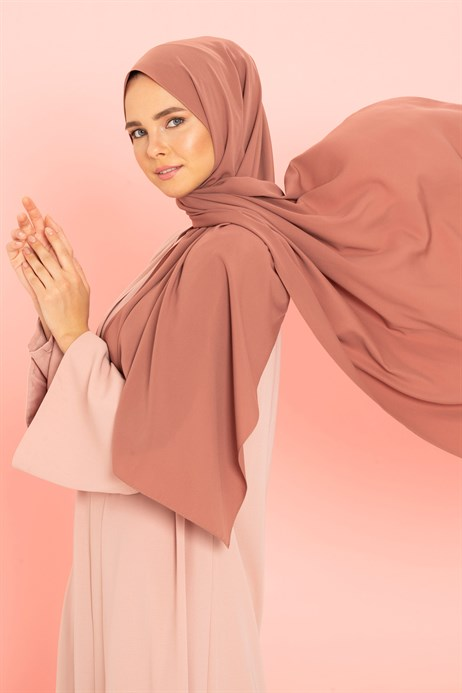 Medina Silk Soft Brown Shawl